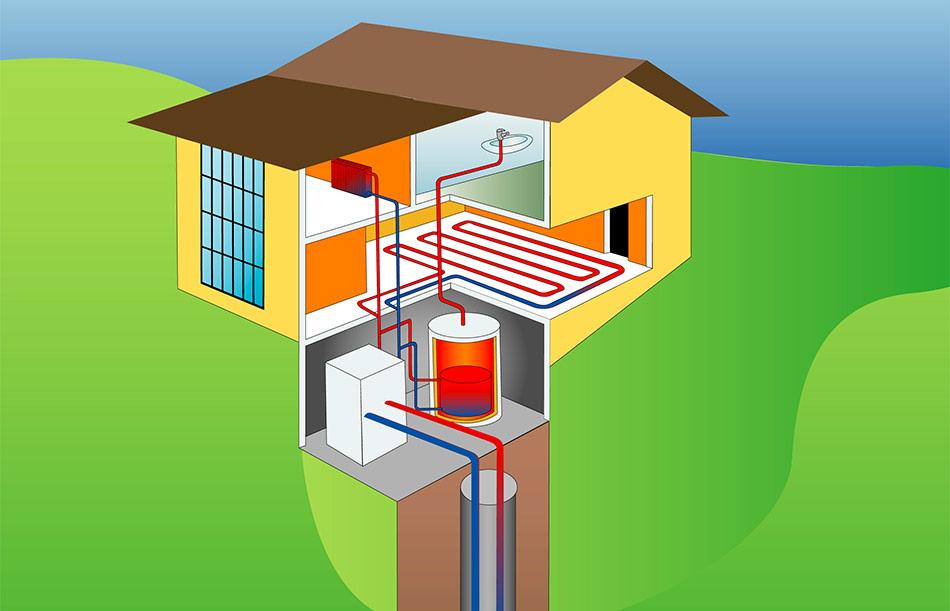 impianto geotermico